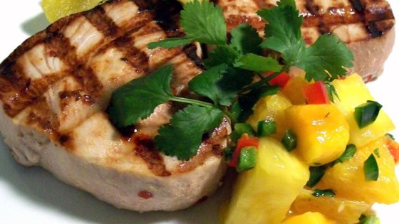 Photo of Citrus Swordfish With Citrus Salsa by Robyn Webb