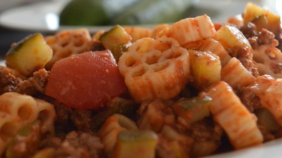 Photo of Debbie's Zucchini Skillet Dinner by ILDeb