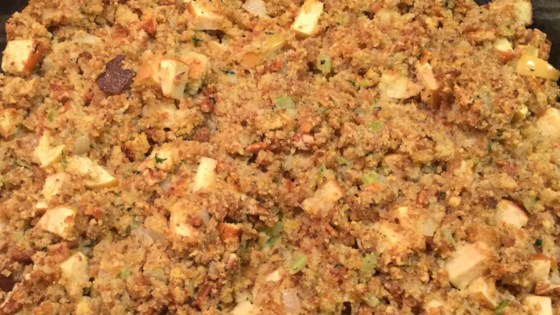 Photo of Apple Pecan Cornbread Dressing by Walsie