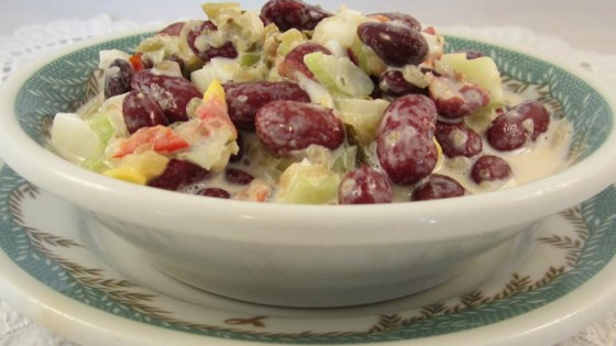 Photo of Kidney Bean and Sweet Pickle Salad by cmac18