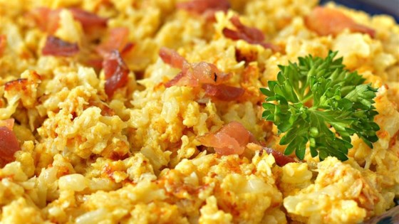 Scrambled Cauliflower - Low Carb Recipe