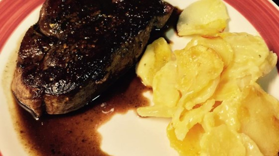 Photo of Manhattan Filet with Pan Sauce Bordelaise by Chef John