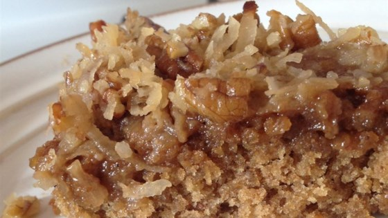 Photo of Grandma Snyder's Oatmeal Cake by Pam Haycraft