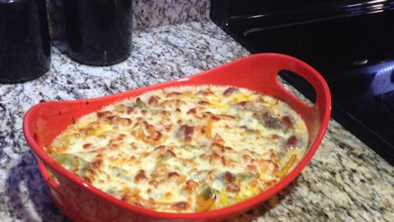 Photo of Beer Cheese Philly Steak Casserole by RckyMntnPrncs