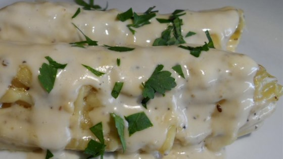 Photo of Easy Chicken Stuffed Manicotti by Jessica P.