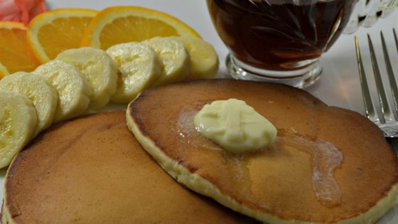 Photo of Eggcellent Eggnog Pancakes by kcryss