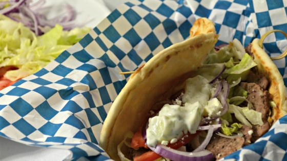 Traditional Gyros Recipe