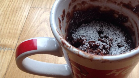 Easy Brownie In A Mug