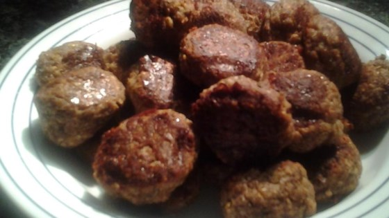 Photo of Vegetarian Meatballs by pho1962