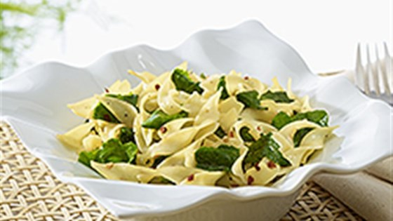Photo of NO YOLKS® Garlicky Noodles with Kale by NO YOLKS® Noodles