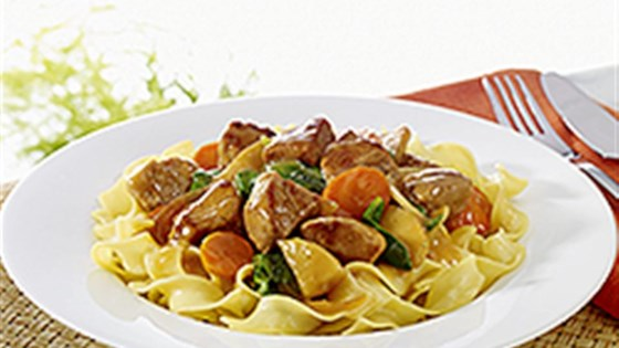 Photo of NO YOLKS® Cider Glazed Pork with Noodles by NO YOLKS® Noodles