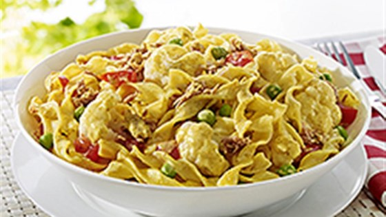 Photo of NO YOLKS® Quick Curried Tuna Supper by NO YOLKS® Noodles