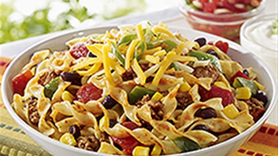 Photo of NO YOLKS® Skillet Salsa Chicken with Noodles by NO YOLKS® Noodles