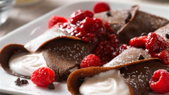Photo of Buckwheat Crepes with Whipped Coconut Cream by So Delicious® Dairy Free