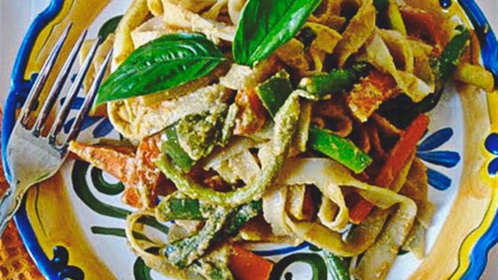 Photo of Peanut-Free Tahini Vegetable Noodle Stir Fry by So Delicious® Dairy Free