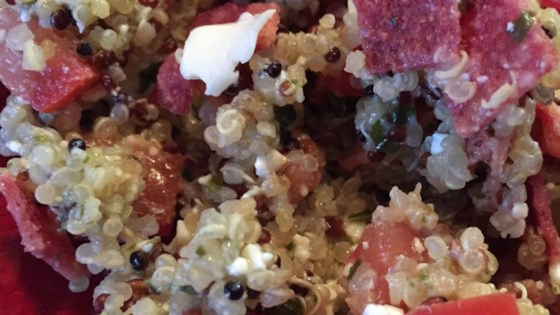 Photo of Quinoa Greek-Inspired Salad by Jasmine Sohrakoff