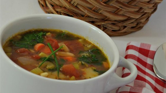 Photo of Judy's Hearty Vegetable Minestrone Soup by Judy Good