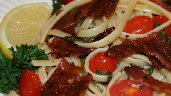 Photo of BLT Linguine by CookingQueen