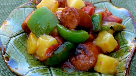 Photo of Sweet and Sour Sausage by LisaH