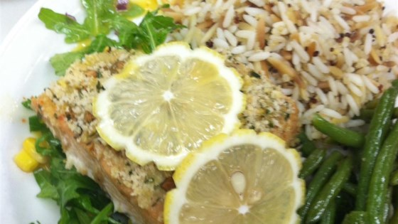 Photo of Lemon Panko Crusted Salmon by thedailygourmet