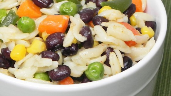 Photo of Seasoned Orzo and Black Beans by Kathy Miller