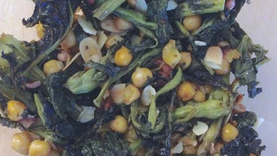 Photo of Roasted Kale and Chickpea Salad by Rachel Sharp