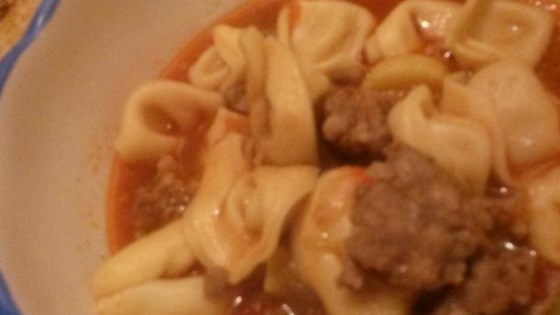 Photo of Joe's Mom's Sausage and Tortellini Soup by SYRAH4689