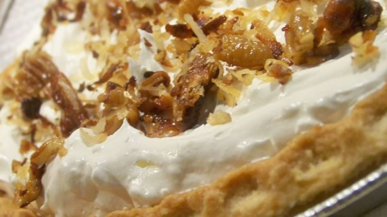 Photo of Toasted Coconut, Pecan, and Caramel Pie by Patrice