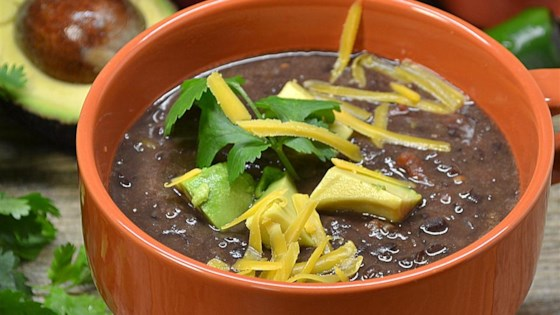 Photo of Easy and Super Delicious Black Bean Soup by theveghead