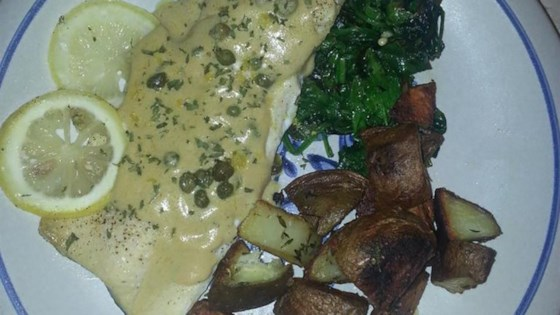 Photo of Rainbow Trout with Buttery Lemon-Caper Cream Sauce by scorpionc