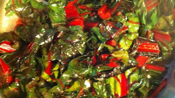 Photo of Swiss Chard Sauteed with Lime by MK!