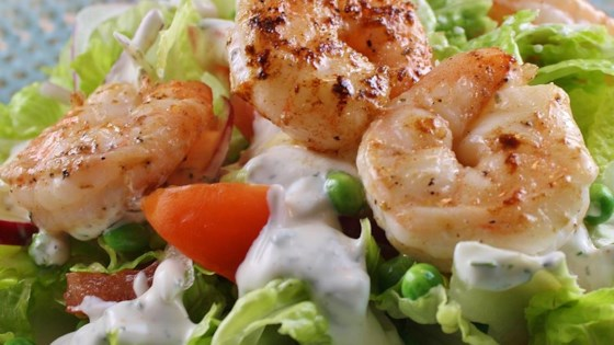Photo of Warm Shrimp Salad by Lizzard