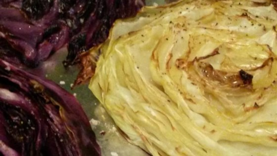 Photo of Easy Roasted Cabbage by hungryallweighs