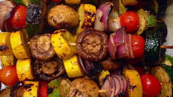 Grilled Veggie Skewers Recipe Allrecipes Com