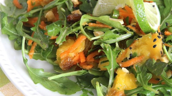 Photo of Mango, Carrot, and Arugula Salad by Elma
