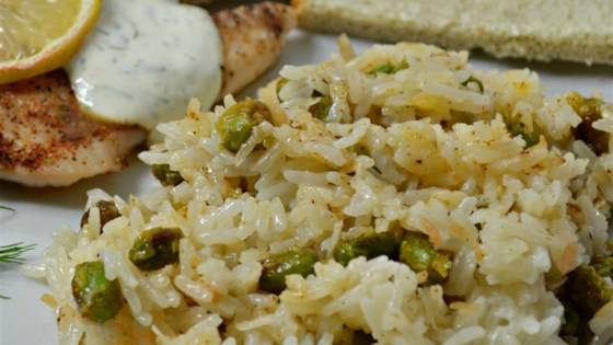 Photo of Coconut Rice with Edamame by JoeTheBaker