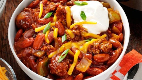 Photo of Slow Cooker Game Day Chili by Reynolds Kitchens®