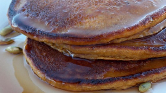 Double Pumpkin Pancake
