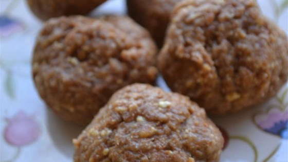 Photo of Peanut Butter Energy Balls by CupcakeKatie