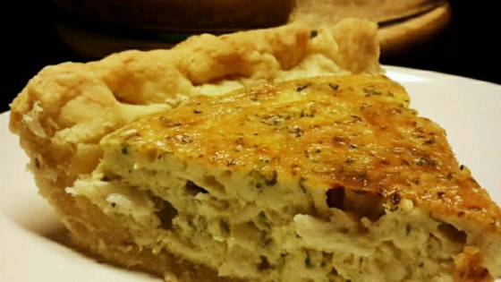 Photo of Crab and Cheddar Quiche by Shelley
