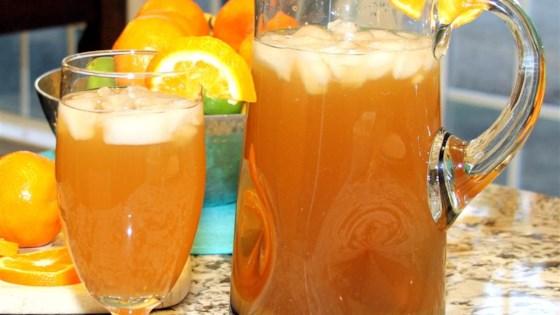 Peach Orange Iced Tea