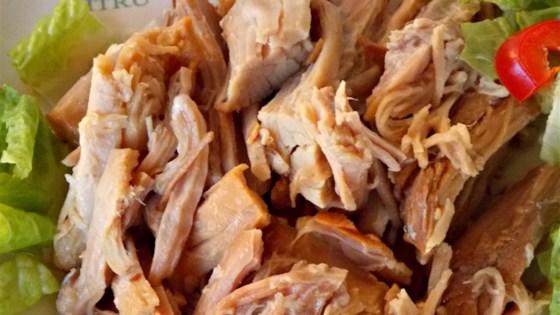 Slow Cooker Pulled Pork with Orange Juice
