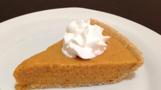 Photo of Pumpkin Chiffon Pie by Carla  A. Lightsey, Houston, Texas