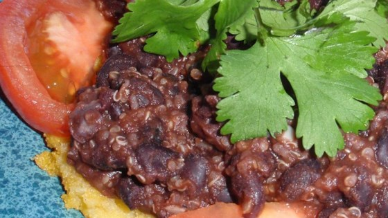 Photo of Quinoa Black Bean Tacos (Vegan) by Ruthie Higbee