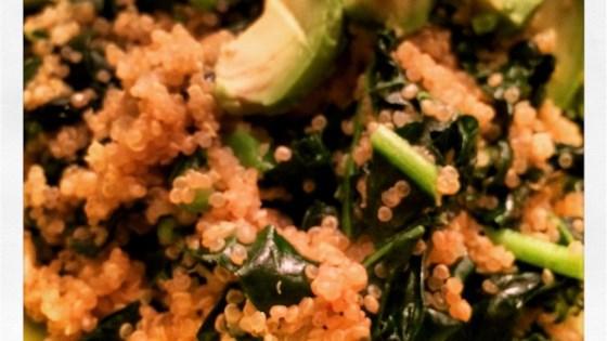 Photo of Garlic Kale Quinoa by Melanie