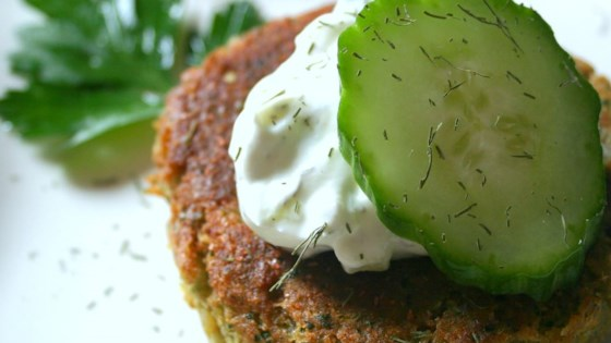 Photo of Sean's Falafel and Cucumber Sauce by Sean