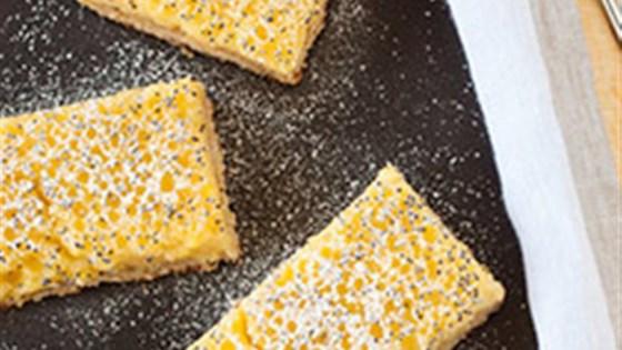 Photo of Gluten Free Lemon Coconut Poppy Seed Bars by Mott's