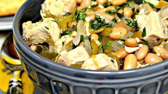 Photo of Simple Chicken and White Bean Soup by MaxMama