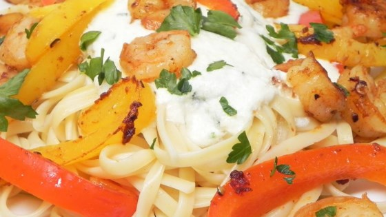 Photo of CraZee's Creamy Seafood and Pasta by CraZee A