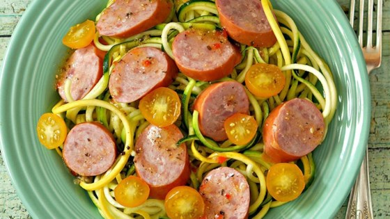 Photo of Smoked Sausage and Summer Squash Salad by bd.weld